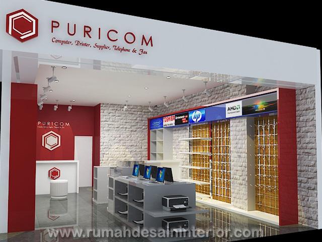 Interior Cafe / Butik / Booth