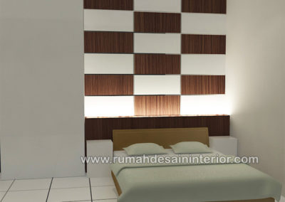 backdrop kamar tidur murah minimalis