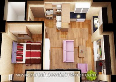 desain interior apartemen taman palem jatinangor