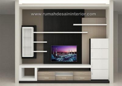 desain interior lemari TV murah serpong tangerang bintaro jakarta serang