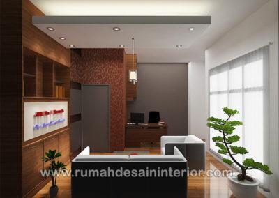 desain interior resepsionis kantor cilegon tangerang serang jakarta bintaro karawaci serpong