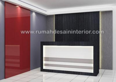 desain interior resepsionis kantor murah cilegon tangerang serang jakarta bintaro karawaci serpong