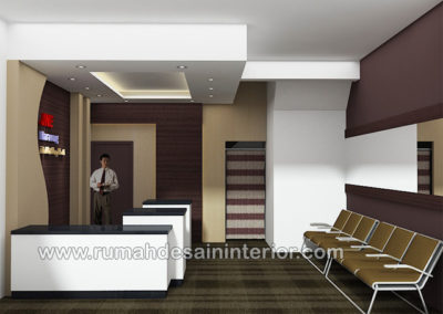 desain interior resepsionis kantor tangerang bogor jakarta bintaro bsd serpong depok