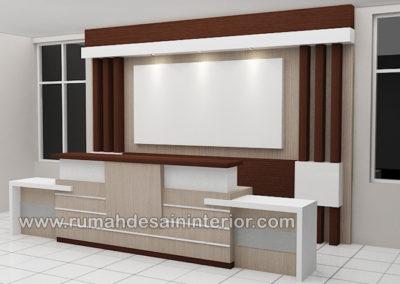 desain interior resepsionis kantor tangerang jakarta bintaro karawaci bsd serpong depok
