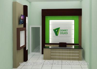 desain interior resepsionis kantor tangerang jakarta bintaro karawaci serpong