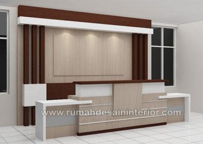 desain interior resepsionis kantor tangerang jakarta bintaro karawaci serpong depok