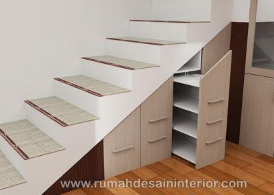 desain lemari bawah tangga tangerang bsd serpong jakarta serang bintaro