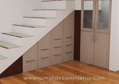 desain lemari bawah tangga tangerang serpong jakarta serang bintaro