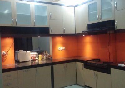 kitchen set bu endah depok