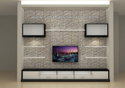 lemari backdrop tv murah minimalis bsd serpong tangerang bintaro jakarta serang
