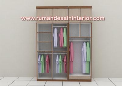 lemari pakaian murah minimalis