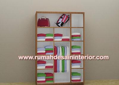 lemari pakaian simple murah tangerang serpong