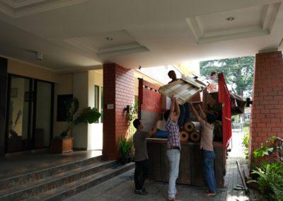 loading di UKSW Salatiga 2
